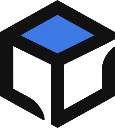 Rules Cube. Built using's Company logo